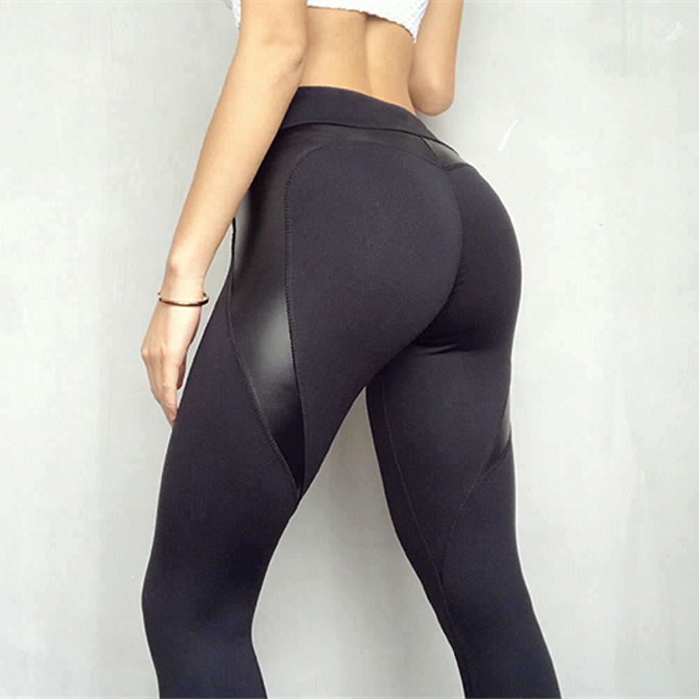 High Waist Heart Leggings