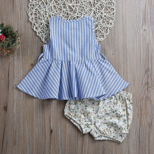 Floral Bloomer Outfit Set