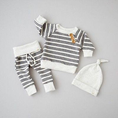Little Lennon Striped Set + 3 piece