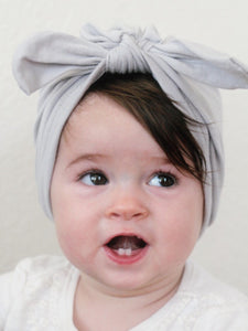 Cotton Bowknot Headpiece