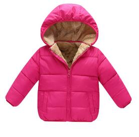 Down Jacket Lined With Fleece
