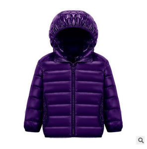 Girls Down Puffy Coat