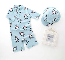 Penguin Swimsuit With Hat