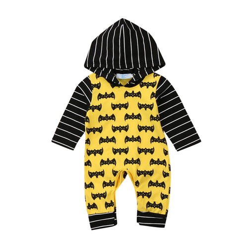 Batman Hooded Romper