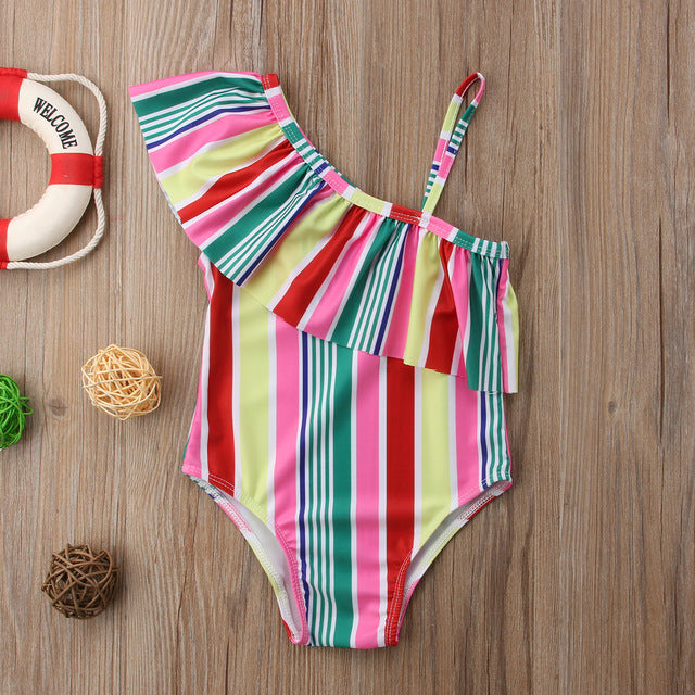 Stripe Swimsuit