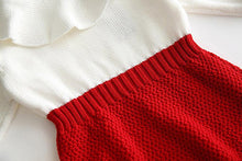 Red Knitted Bodysuit