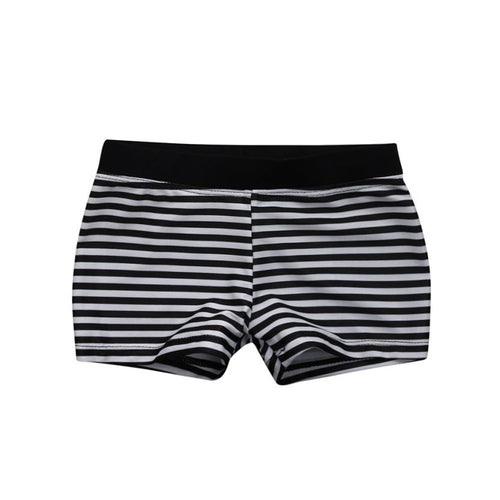 Stripped Swim Trunks