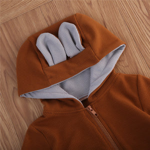 Baby Deer Onesie With Hood