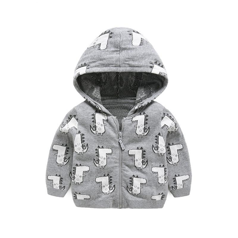 Dino Hooded Jacket