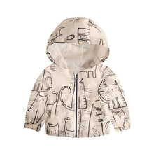 Cartoon Windbreaker