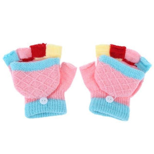 Knitted Gloved Mittens