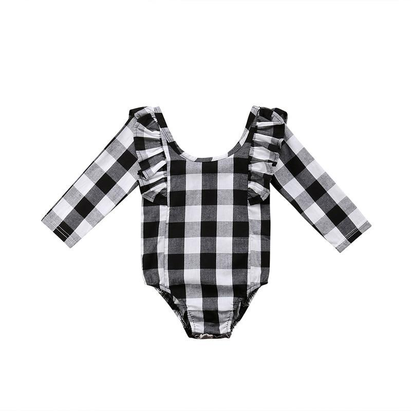 Buffalo Plaid Bodysuit