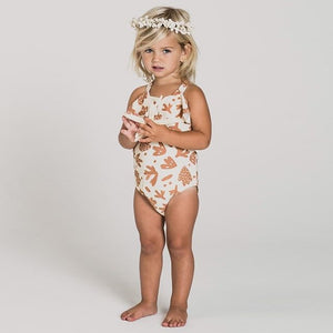 Neutral Beach Swimsuit