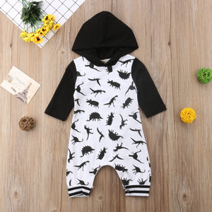Long Sleeve Dino Romper