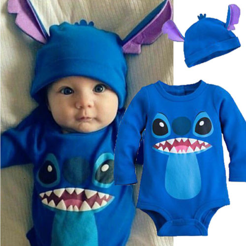 Stitch Costume + Hat