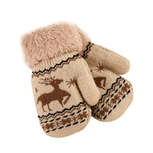 Wool Winter Mittens