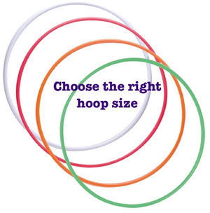 How to choose the right hoop size for rhythmic gymnastics?
