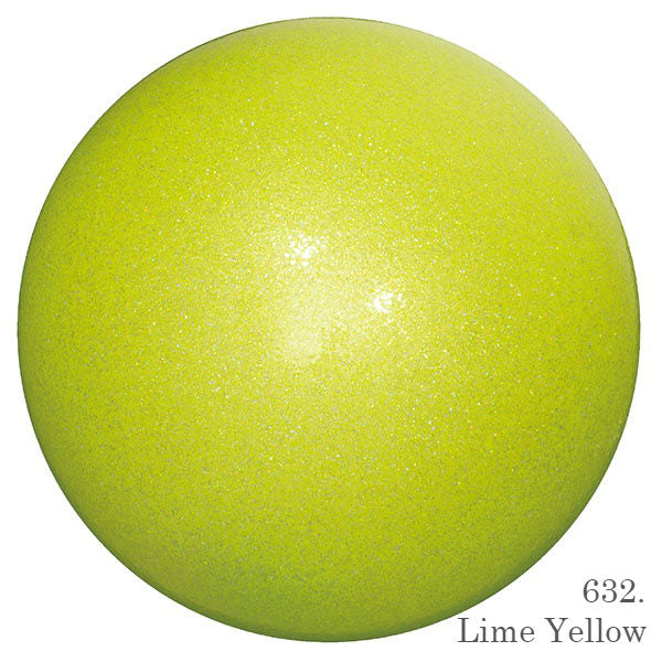 Chacott Prism Ball 17 cm Lime Yellow - OneSports.ae