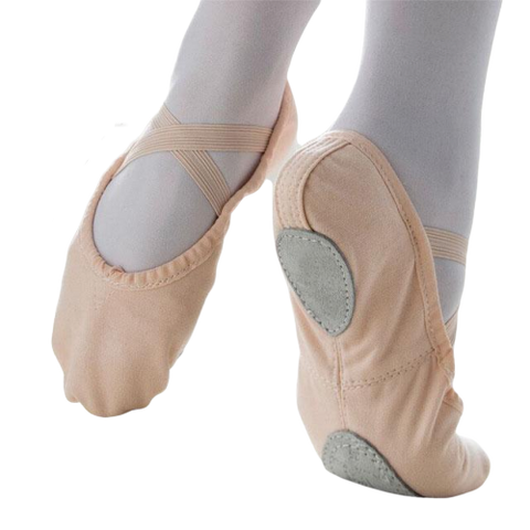 Girls Diva Sports Pink Ballet Shoes