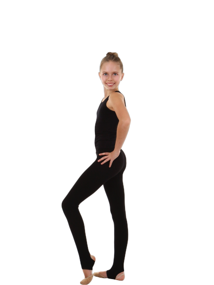 SOLO Open Heel Leggings (cotton) - OneSports.ae