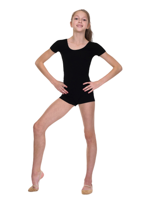 SOLO Black Unitard Isla (cotton) - OneSports.ae