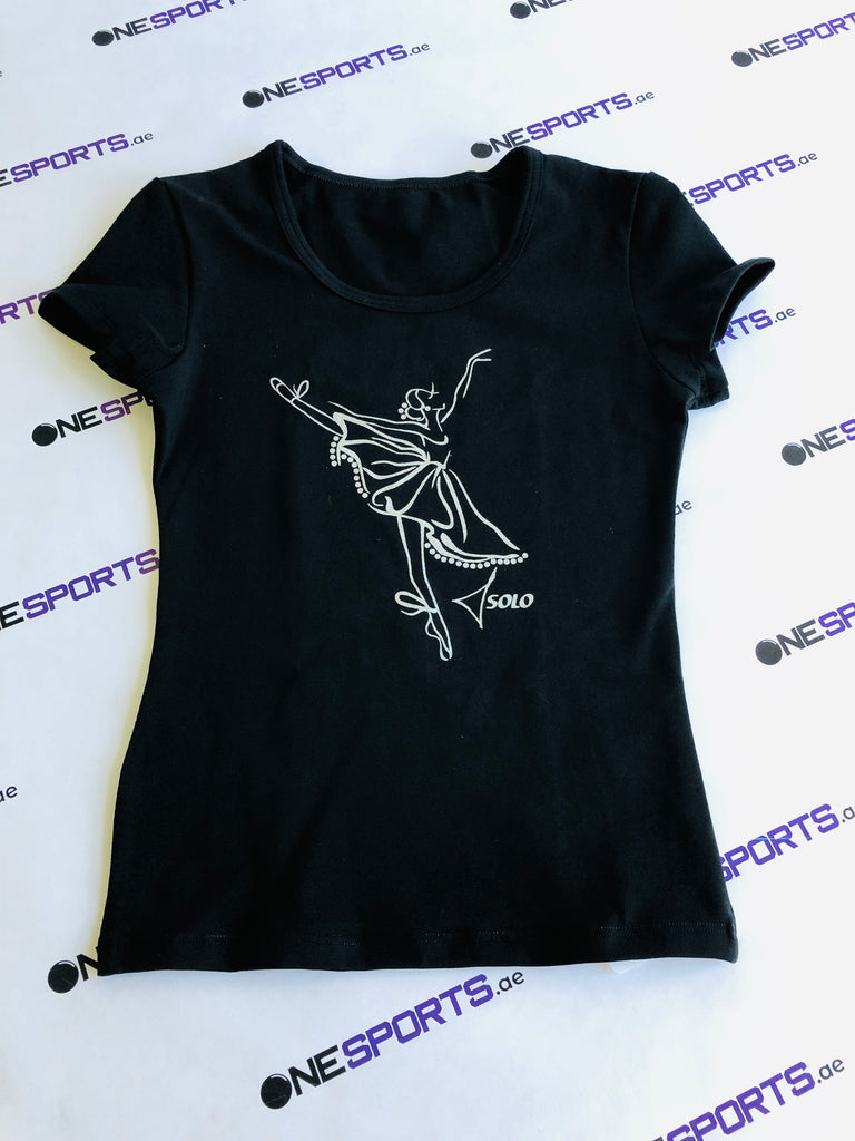Solo Dancer print T-shirt - OneSports.ae