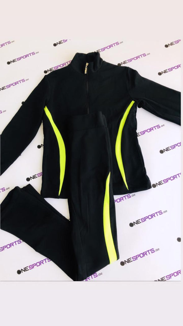 Training Costume Rittberger Black/Lime