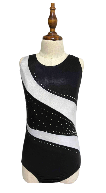 Diva Sports Leotard Silver Midnight - OneSports.ae
