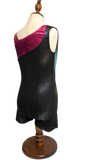 Diva Sports Black Leotard Midnight Sky - OneSports.ae