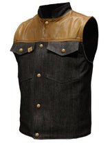 THRASHER VEST | SHORTIE | BRASS