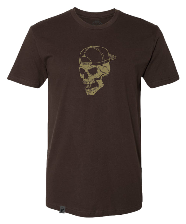 SKULL TEE | GRIZZLY