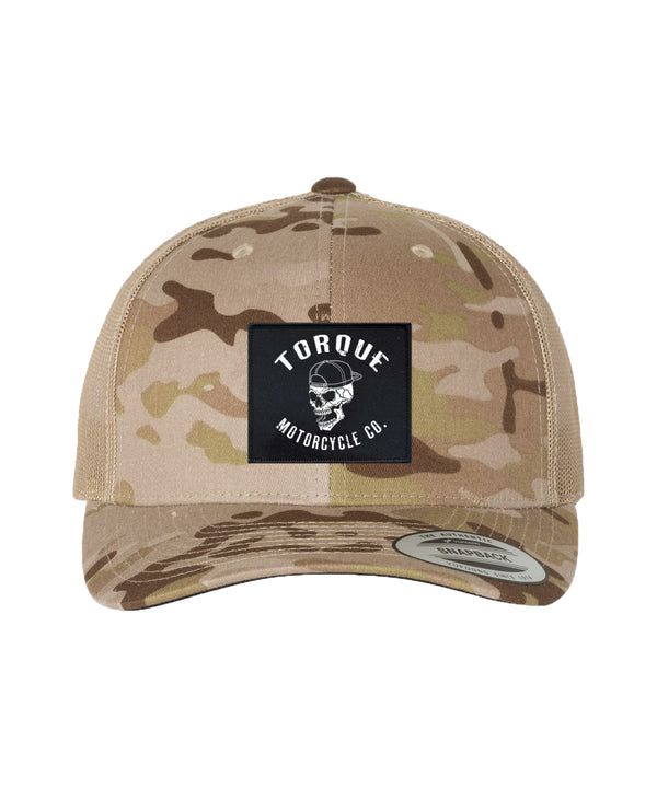 CREST TRUCKER | DESERT CAMO | LIMITED EDITION