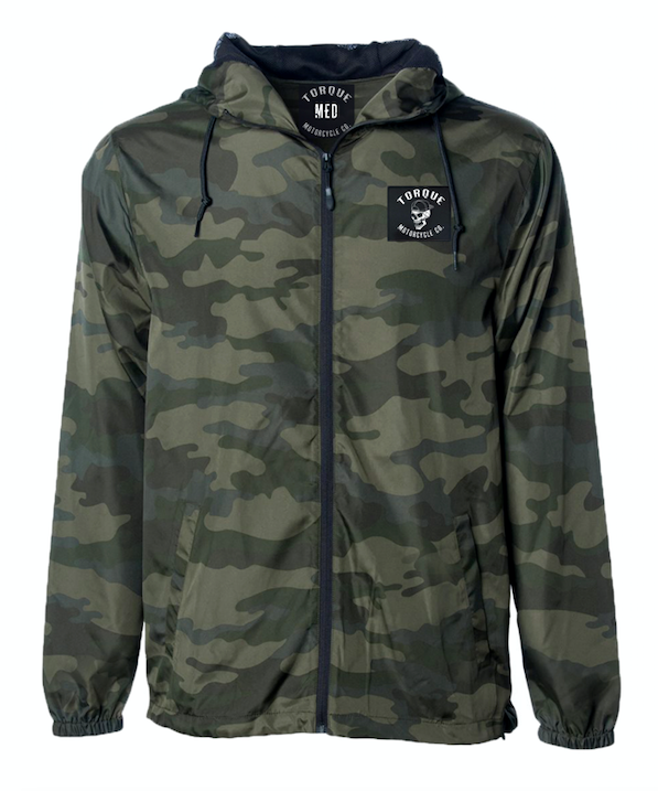 CREST PATCH WINDBREAKER | CAMO