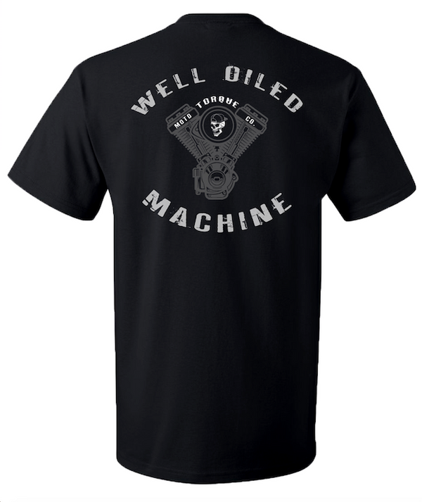 MACHINE TEE | BLACK