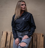 WOMENS CREST CROP WINDBREAKER
