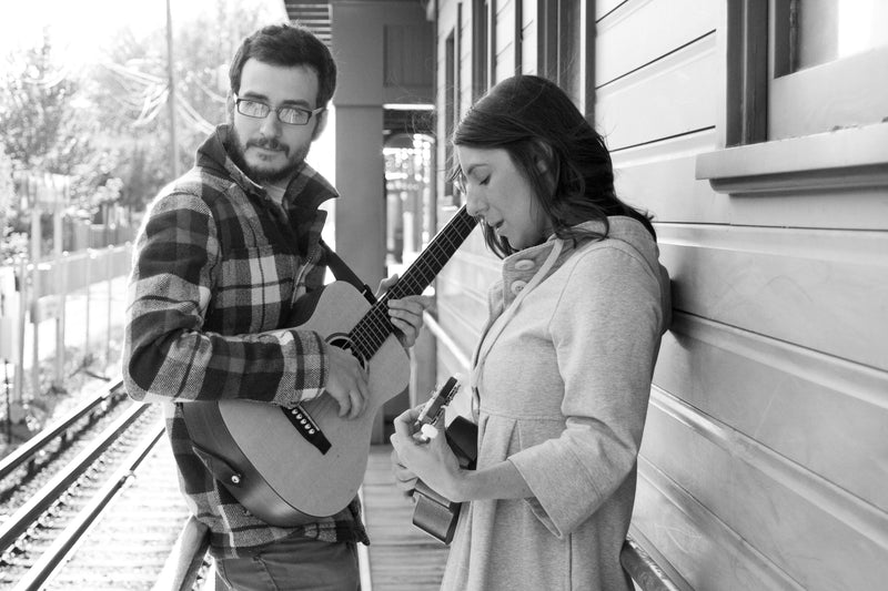 Indie Folk Duo Performance