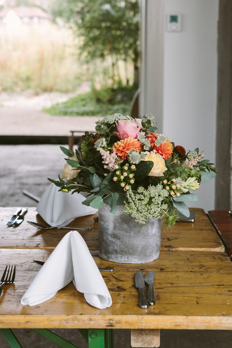 Locally Sourced Floral Centerpieces (with delivery options)