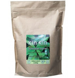 Kin Kin Naturals Dishwashing Powder - Lemon Myrtle & Lime 2.5kg