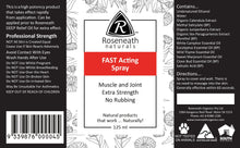 Load image into Gallery viewer, Roseneath Fast Acting Spray - 500mL