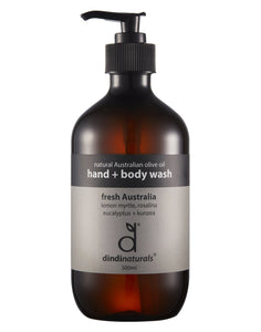 Hand + body wash fresh australia - 500ml