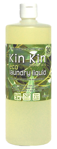 Kin Kin Naturals Laundry Liquid - Eucalupt & Lemon Myrtle 1050mL