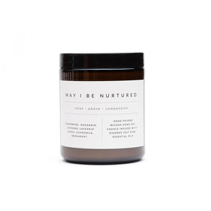 'May I be Nurtured' Essential Oil Candle 250ml
