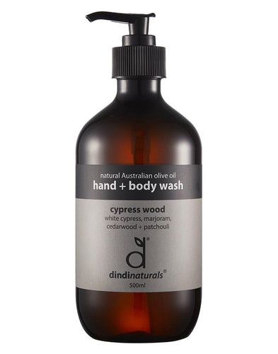 Hand + body wash cypress wood  - 500ml