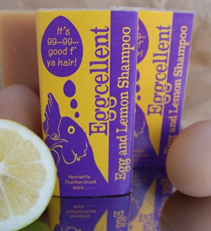 Eggcellent Egg & Lemon Shampoo Bar - 125g