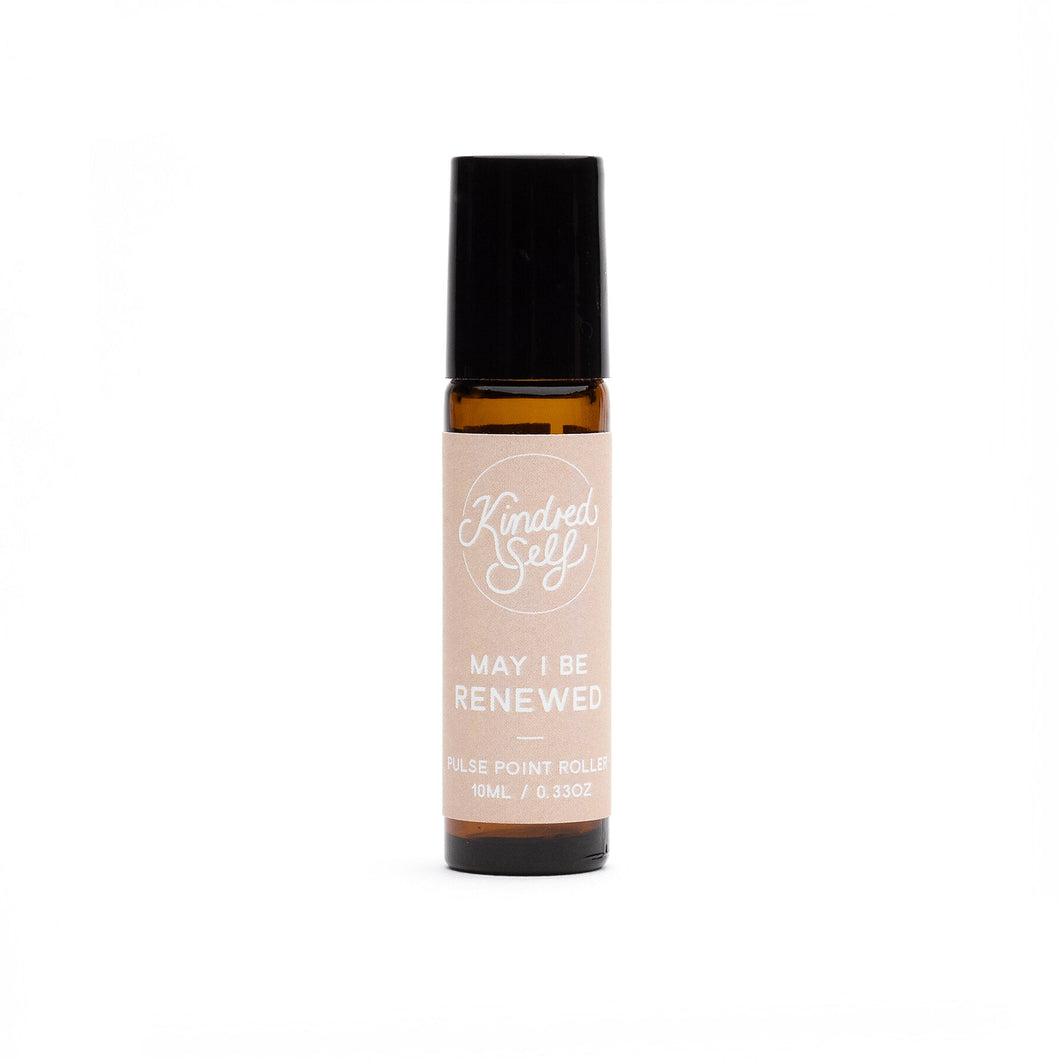 'May I be Renewed' Pulse Point Roller 10mL