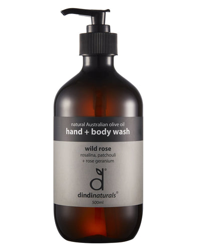 Hand + body wash wild rose - 500ml