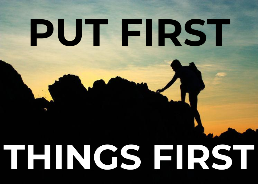 The 7 Habits of Highly Effective People - [3] PUT FIRST THINGS FIRST