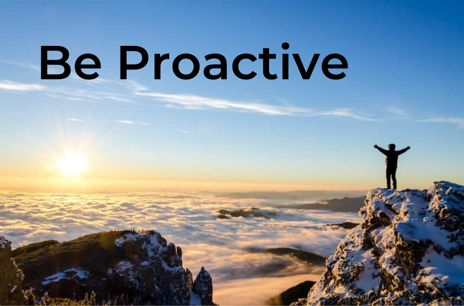 The 7 Habits of Highly Effective People - [1] BE PROACTIVE