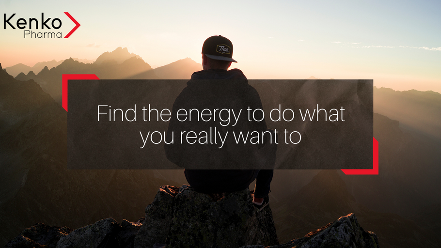 Find the energy to do what you really want to