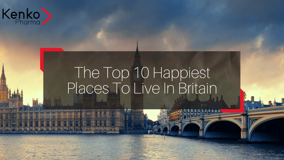 The Top 10 Happiest Places To Live In Britain